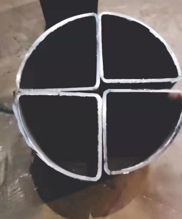 扇形管55*55仪表管扇形设计图