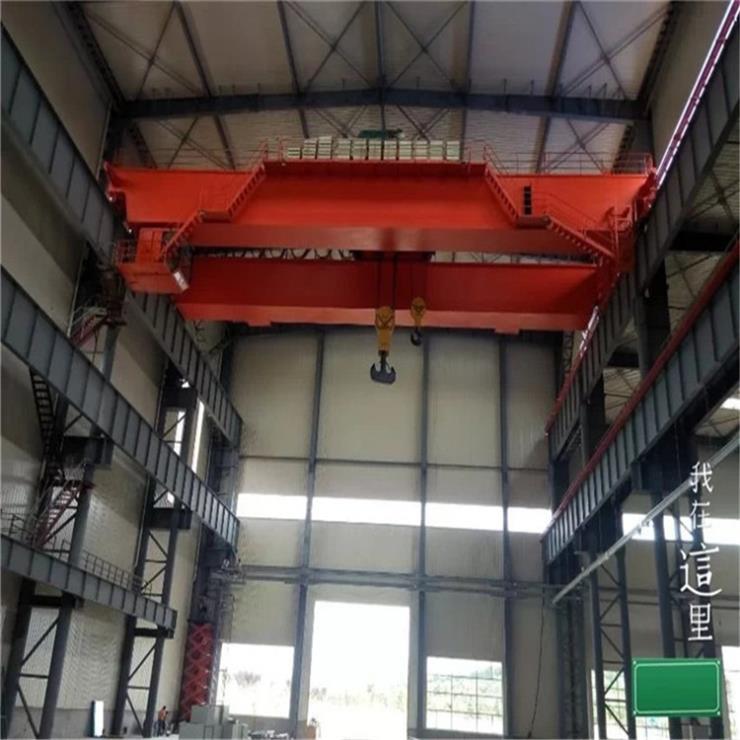 自動化5噸22.5米冶金起重機QC型16-3.2-32/5t電磁橋式起重機價格