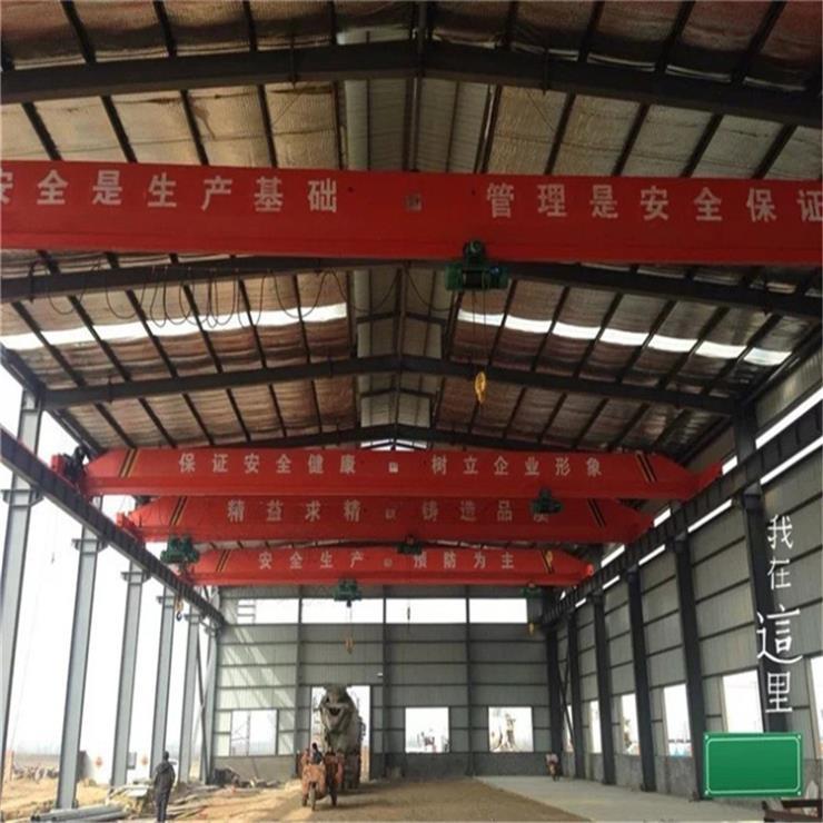 浙江MH型70吨电动葫芦门式起重机起重机轨道安装