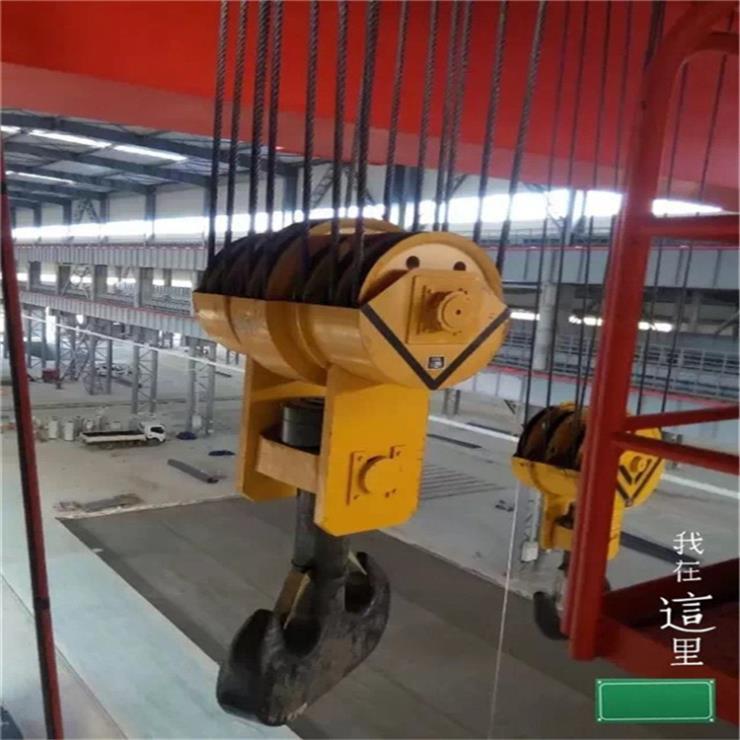 浙江MH型70吨电动葫芦门式起重机门式起重机安装