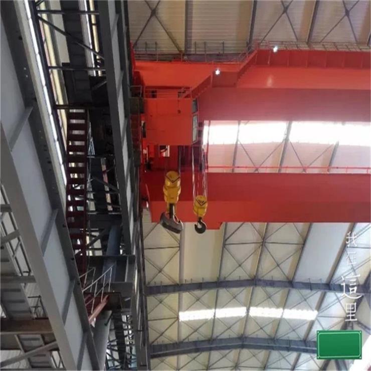 福建LDA型2吨11米电动单梁起重机抓斗起重机制造厂家