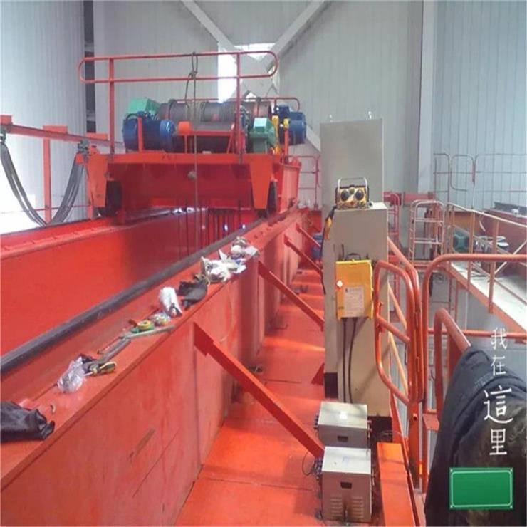 福建LDA型2吨11米电动单梁起重机起重机轨道生产厂家