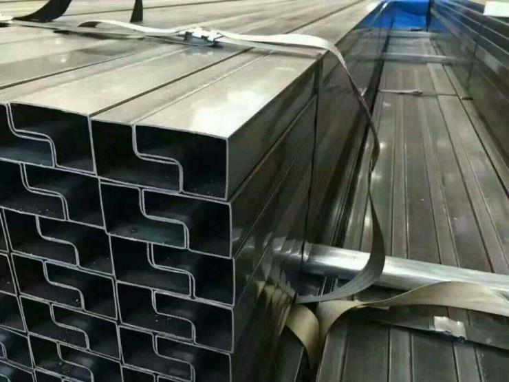 60*60双面凹槽管,不锈钢凹槽管厂