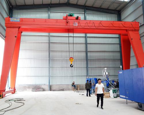 【jinicrane】輪胎式三噸以下19.5米電動葫蘆起重機價格