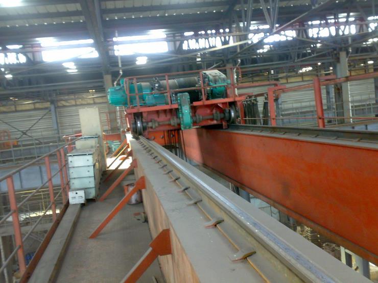 华卫用160吨26.5米龙门门式起重机