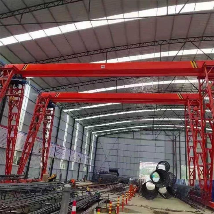 氣體防爆2.95噸22.5米龍門吊裝卸橋5t-40m