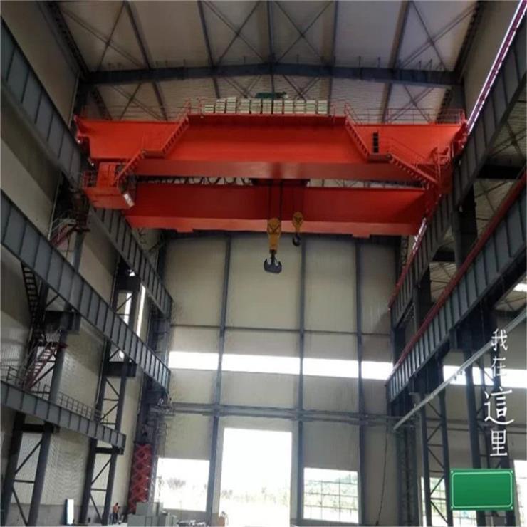 浙江倉庫用10噸葫蘆門式起重機起重機標準改造