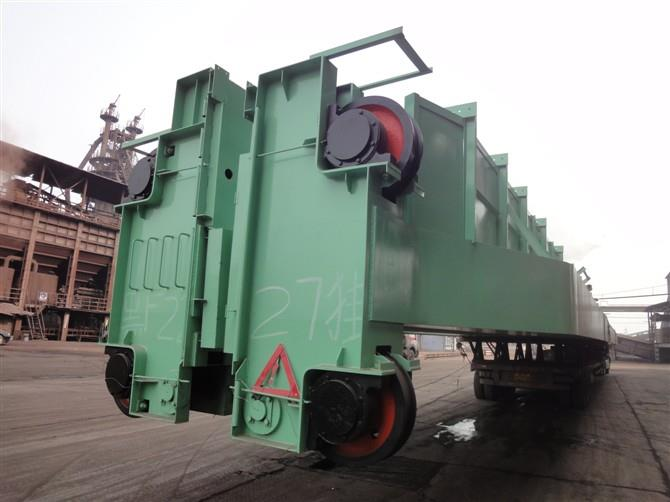 3吨龙门吊LDY型L型5-10t单主梁抓斗门式起重机