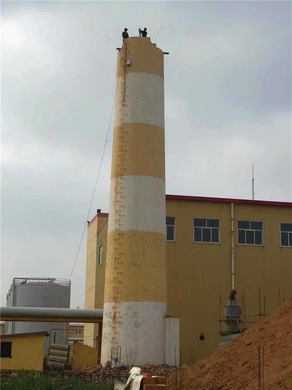 本溪钢烟囱拆除公司