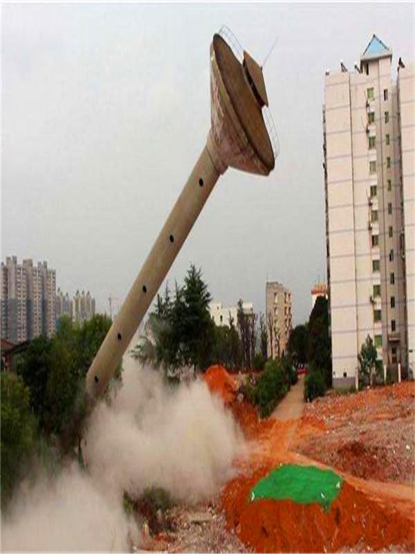 泰州专业烟囱拆除