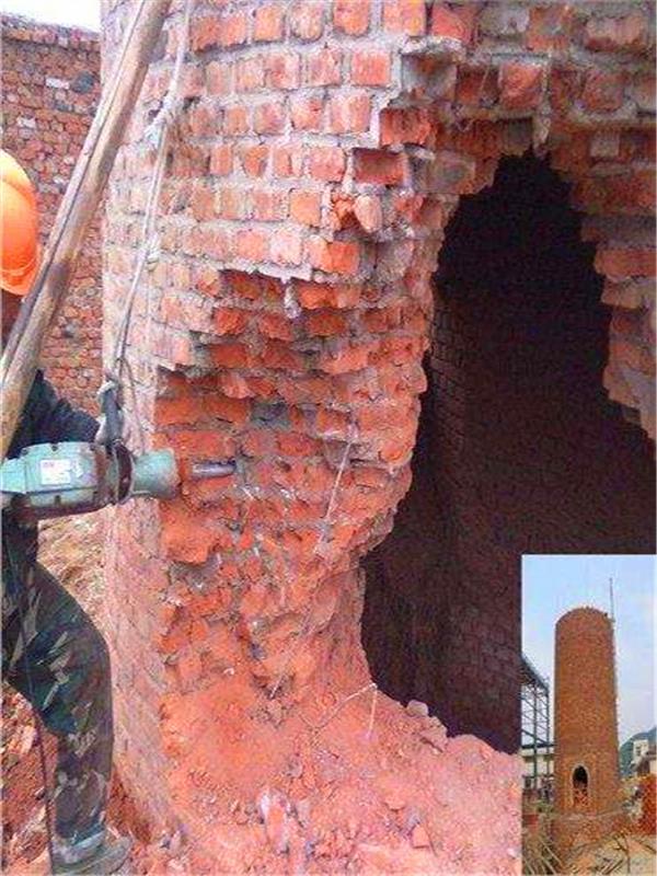 南阳水泥烟囱拆除公司