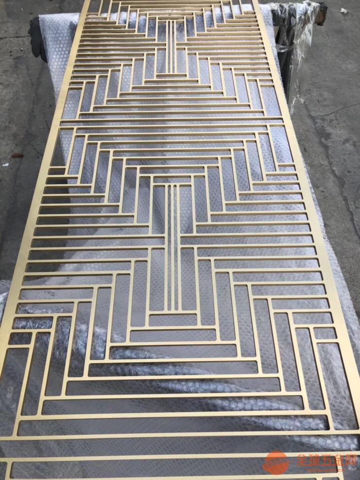 生产不锈钢屏风隔断 各种金属制品定制