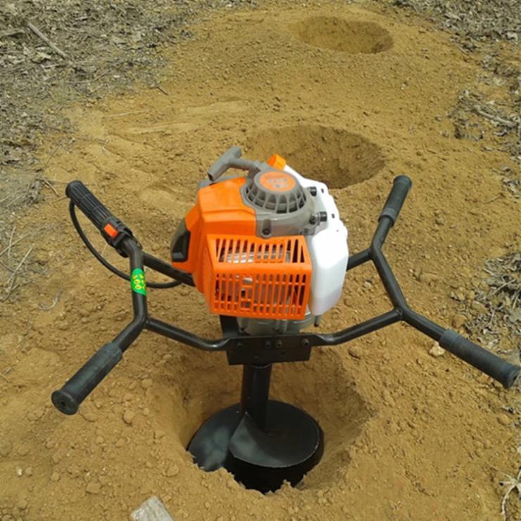 蘭州挖坑機多少錢一臺