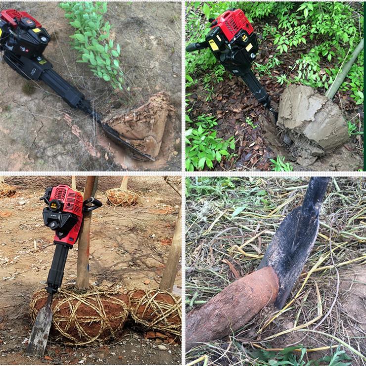 断根挖树机 便携式断根起树机
