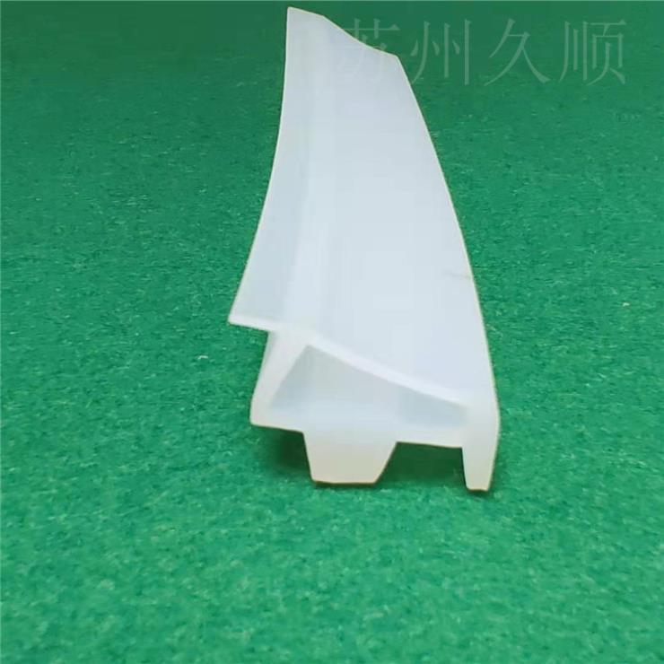硅橡膠木門密封條防撞條皮條卡槽式隔音防風門條