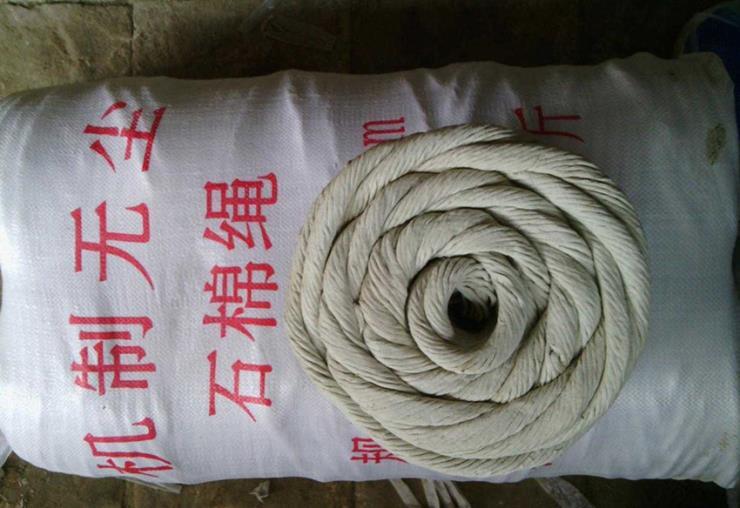 石棉绳(分为石棉纽绳、石棉圆编绳)生产厂家