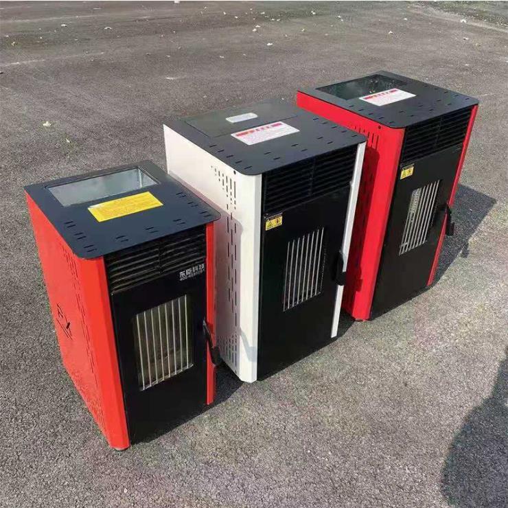 民用小型采暖炉 家用快速升温颗粒取暖炉 颗粒取暖炉家