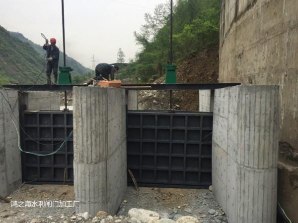 怒江水庫閘門--水庫閘門水電站專用閘門