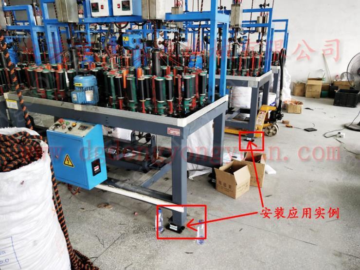 楼上机械隔震隔振装置 注塑机减震器 选锦德莱