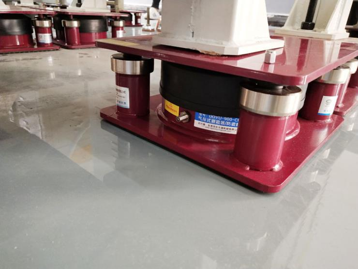 GSF精密儀器減震器 兩座標簽模切機減震膠墊 氣壓式