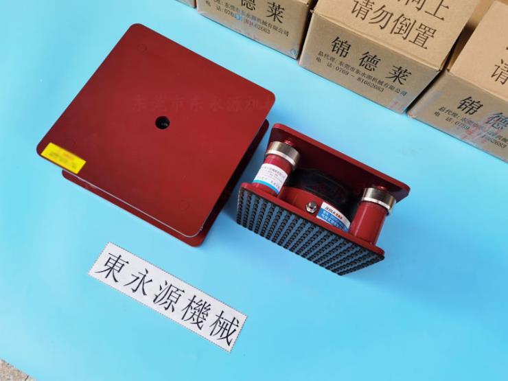 制袋机地脚,楼上餐盒机器防震气垫 选锦德莱