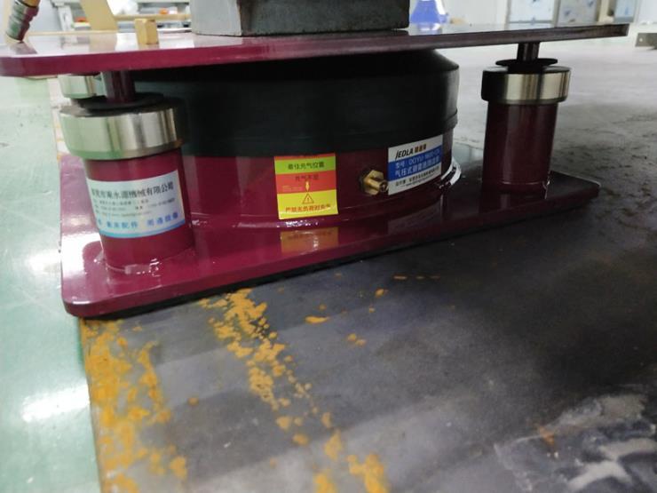 雷頓測量機氣浮式避震器 皮革切割機避震器 找東永源
