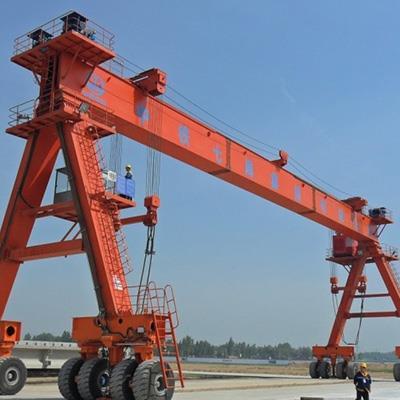【吉尼智能起重機】2.5噸跨度22.5米輪胎提梁機聯系電話