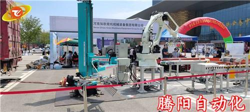 包装码垛机器人是集机电一体化的高科技产品