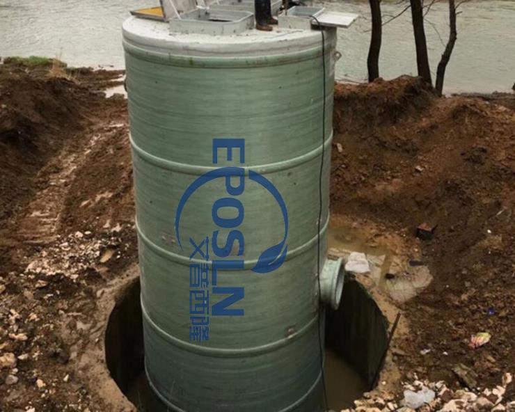 玻璃钢一体化预制泵站是解决内涝的好帮手