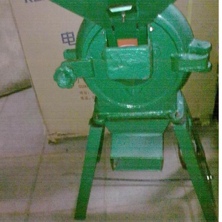 家用小型饲料粉碎机 齿爪式饲料粉碎机铭途360型齿盘式粉碎机