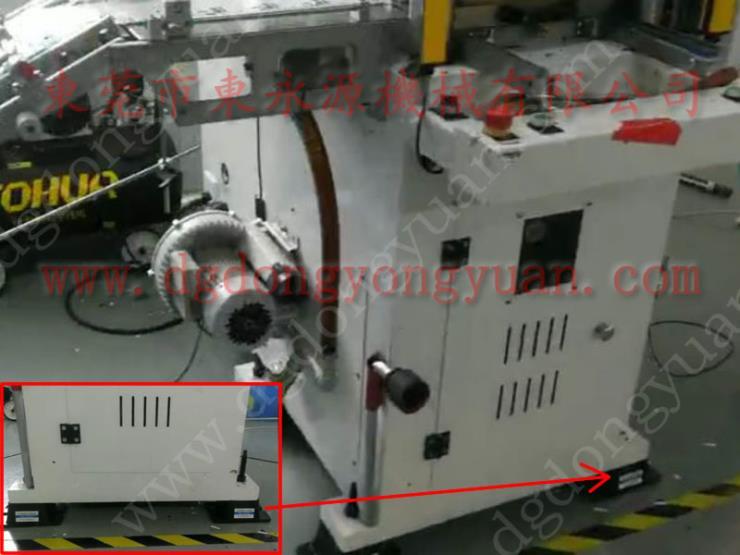 天津楼上机器隔振脚,印刷机械防震垫 选锦德莱