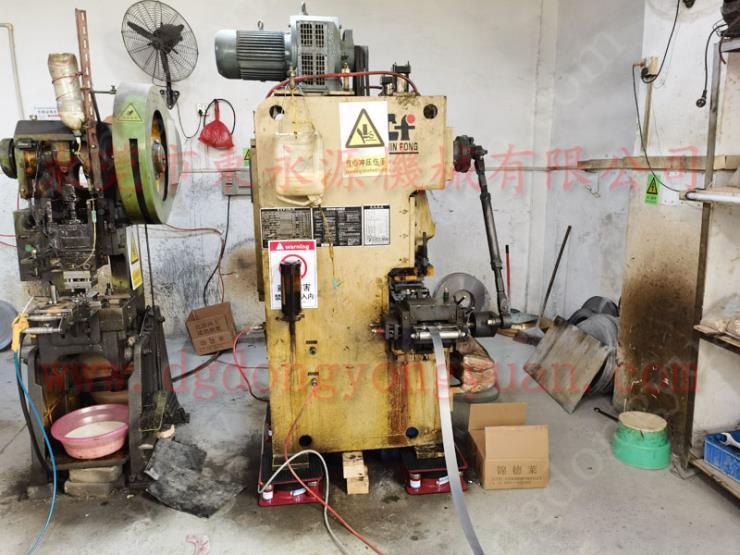鋼筋拉力機減震墊,樓頂機械減震墊 找東永源