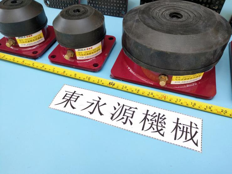 织绳机防震台 充气式减振器供 找东永源
