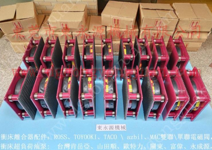 三坐标避震垫 水泵充气式减振器 找东永源