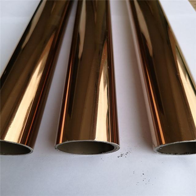 彩色不锈钢管 皆可加工 给你不一样的色彩