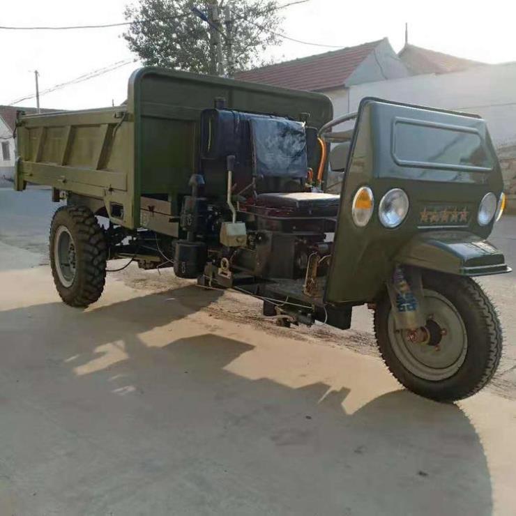 农用机动三轮车 铭途工地水泥运输三轮车 小型柴油三轮