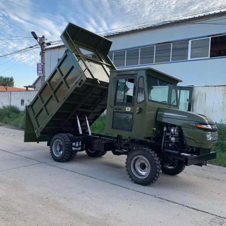 3吨农用车四不像运输车 四驱自卸工程车拖拉机