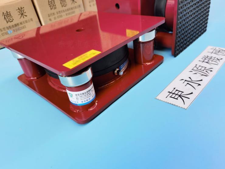 裁断机减震垫,隔砂石机地面震胶垫 选锦德莱