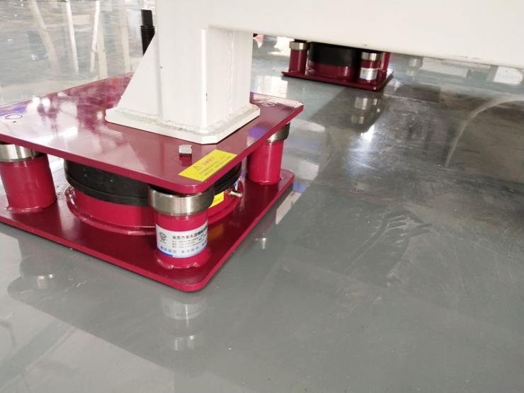 气压式减振垫,地板革模切机防震垫 选锦德莱