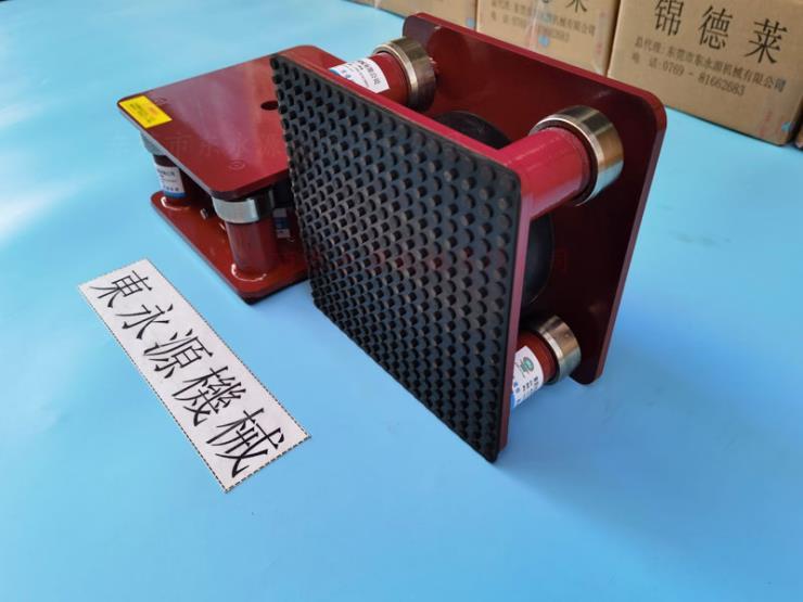 三坐標隔震器,裁切機防振腳,反光紙模切機防振墊 錦德