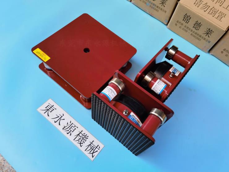 七樓機器減震裝置,錦德萊避震器,環保包裝機器避震器