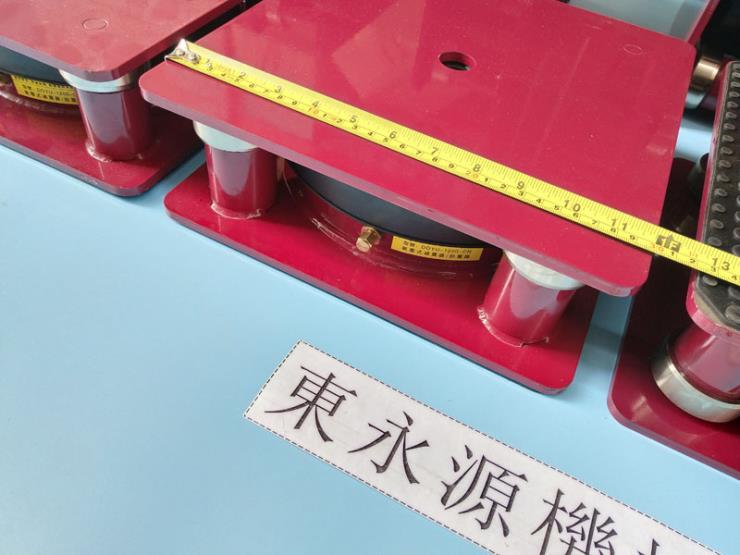 精密仪器隔振装置 不干胶模切啤机防震垫 选锦德莱