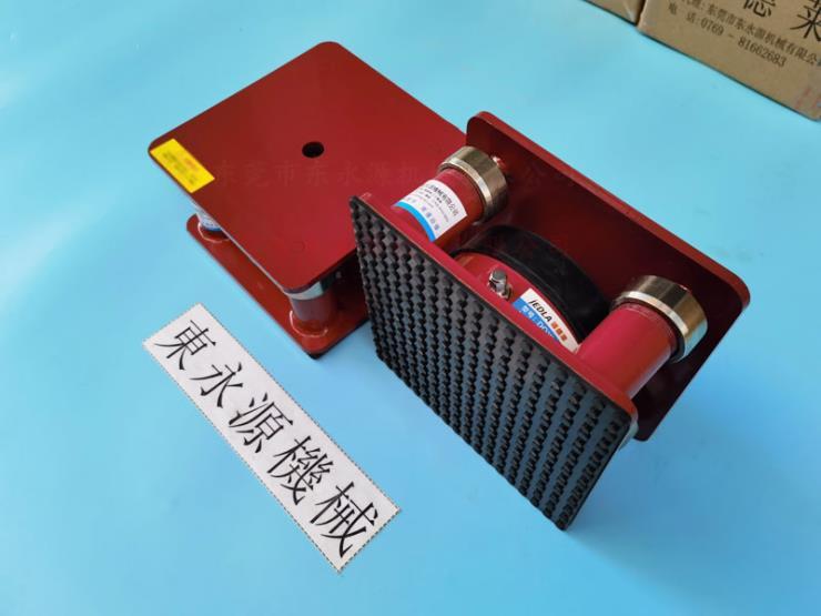 气浮减震器,模切冲床防振胶垫,钱包皮革模切机避震器