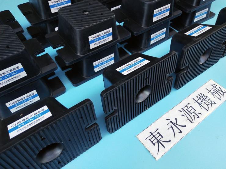 膜切机防震装置 中山楼上机器防振垫 找东永源