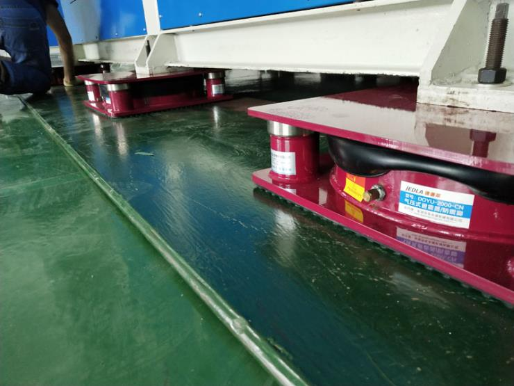 防震好的减震垫 工业设备隔振气垫 选锦德莱