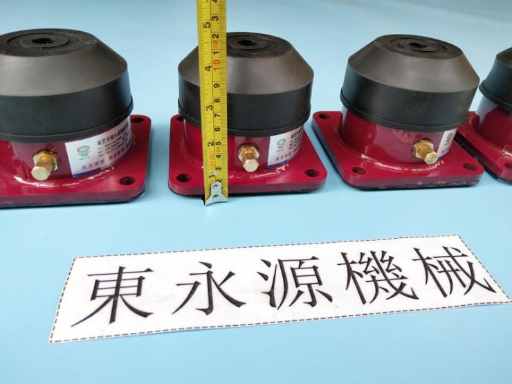楼上机械减振器 弹簧试验机隔震垫 找东永源
