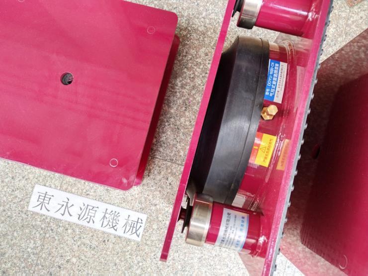 绣花机减震垫,楼上绕线机防振气垫 找东永源