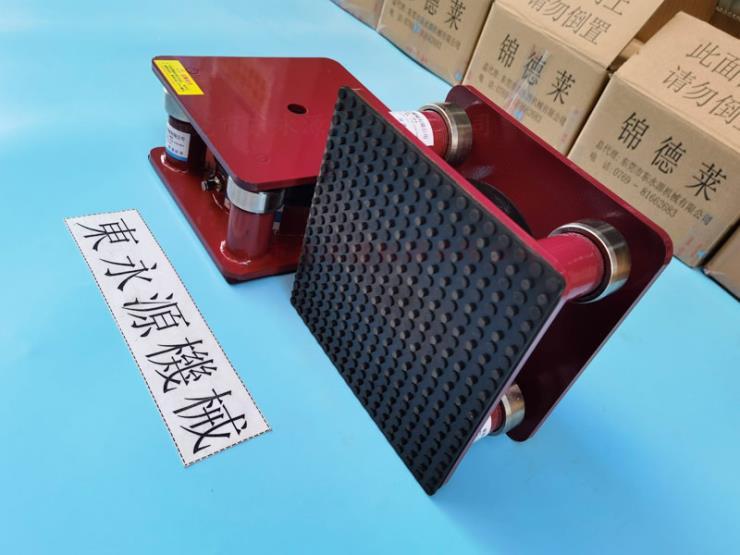 三次元隔震垫,织带机减震器,楼顶机器防地面震动脚 锦