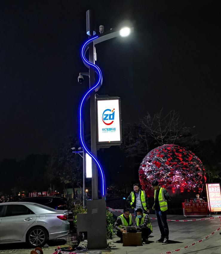 四川5G基站智慧灯杆多少钱