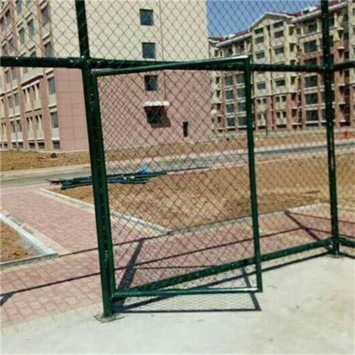 桥东区达创体育小区防腐桂林排球场地围网